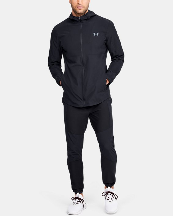 Men's UA Training Woven Jacket, Black, pdpMainDesktop image number 1