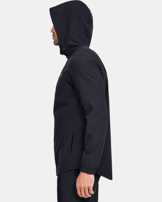 Men's UA Training Woven Jacket, Black, pdpMainDesktop image number 3