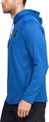 Under Armour Tech Terry Homme Training Pullover Sweat à Capuche-Bleu