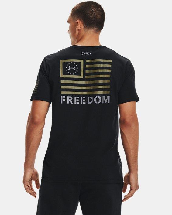 Men's UA Freedom Banner T-Shirt, Black, pdpMainDesktop image number 0