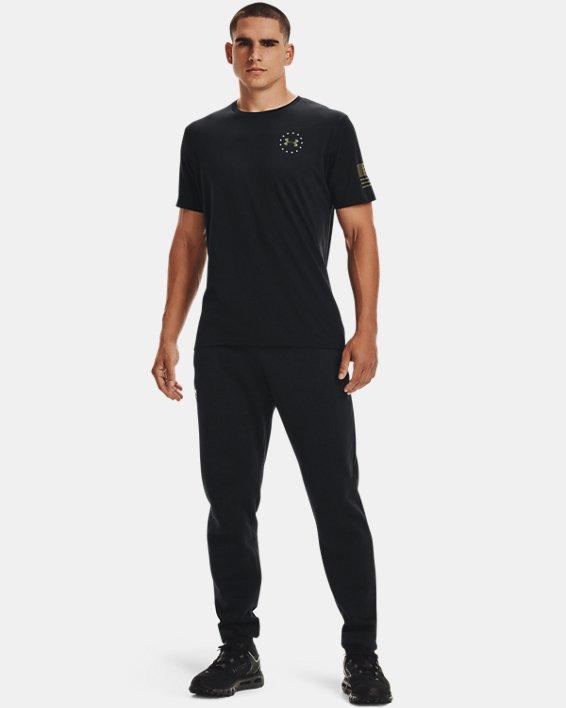 Men's UA Freedom Banner T-Shirt, Black, pdpMainDesktop image number 1