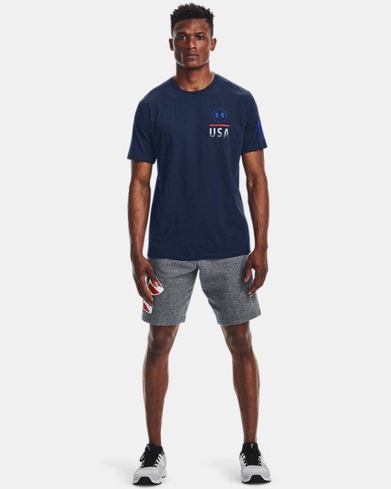 Men's UA Freedom Fierce Competitor T-Shirt, Navy, pdpMainDesktop image number 1