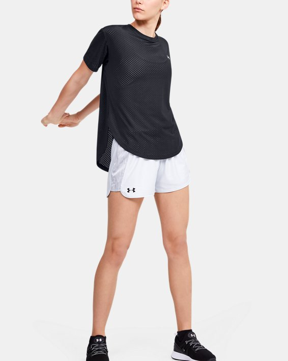 Women's UA Armour Sport Short Sleeve, Black, pdpMainDesktop image number 1