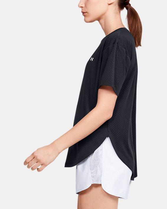 Women's UA Armour Sport Short Sleeve, Black, pdpMainDesktop image number 3