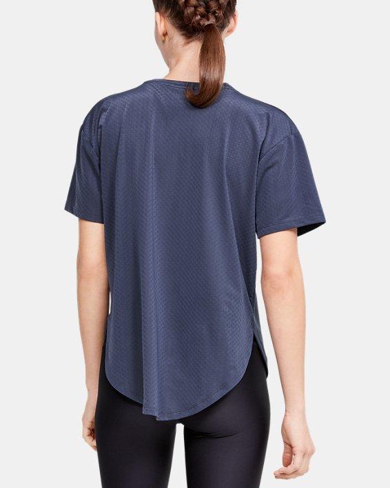 Women's UA Armour Sport Short Sleeve, Blue, pdpMainDesktop image number 2