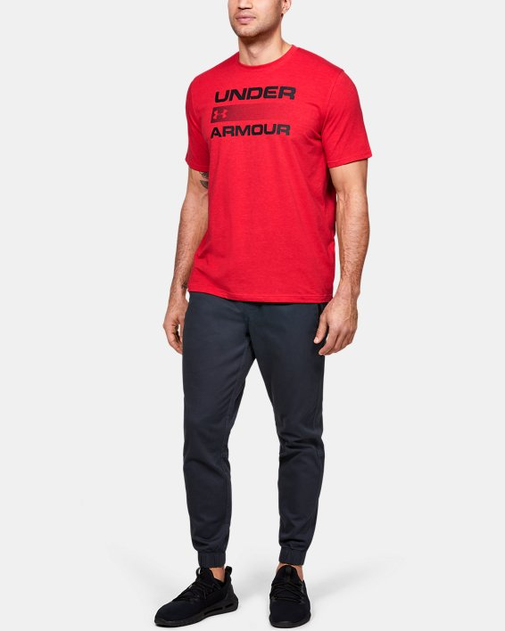 Men's UA Team Issue Graphic T-Shirt, Red, pdpMainDesktop image number 1