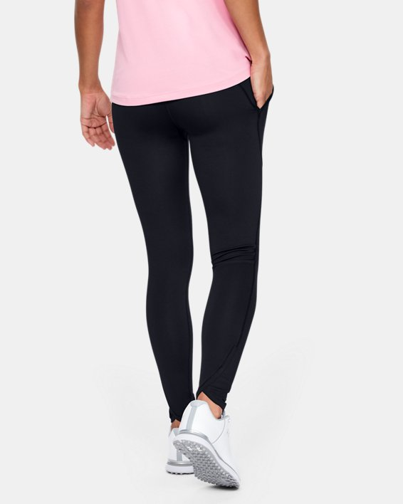 Women's UA Links Leggings, Black, pdpMainDesktop image number 2