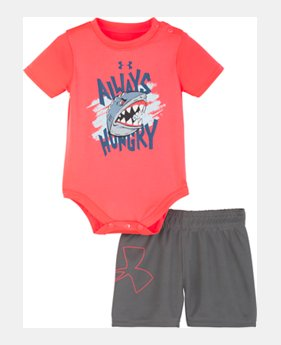 223d6bf502a02 New Arrival Boys' Newborn UA Always Hungry Set 1 Color Available $30