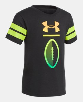 724b1410e New Arrival Boys' Toddler UA Varsity Football Short Sleeve 1 Color Available  $22