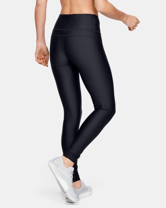 Women's HeatGear® Armour Hi-Rise Leggings, Black, pdpMainDesktop image number 2
