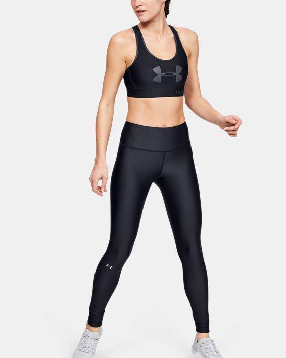 Women's HeatGear® Armour Hi-Rise Leggings, Black, pdpMainDesktop image number 0