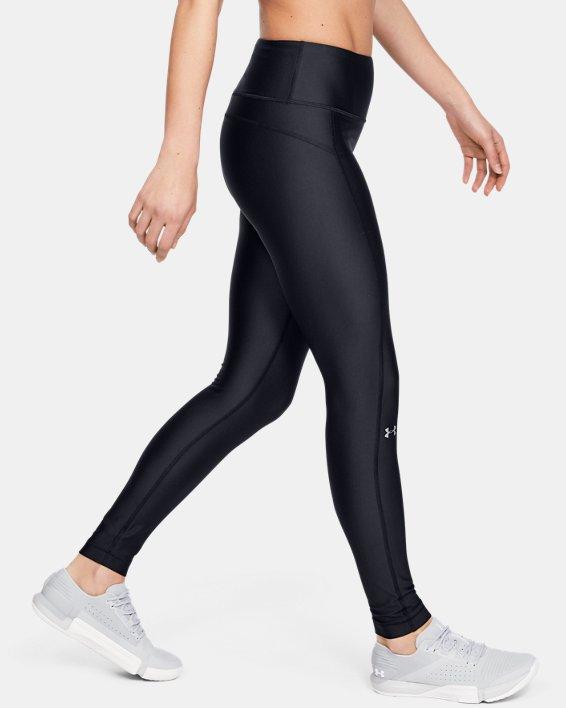 Women's HeatGear® Armour Hi-Rise Leggings, Black, pdpMainDesktop image number 3