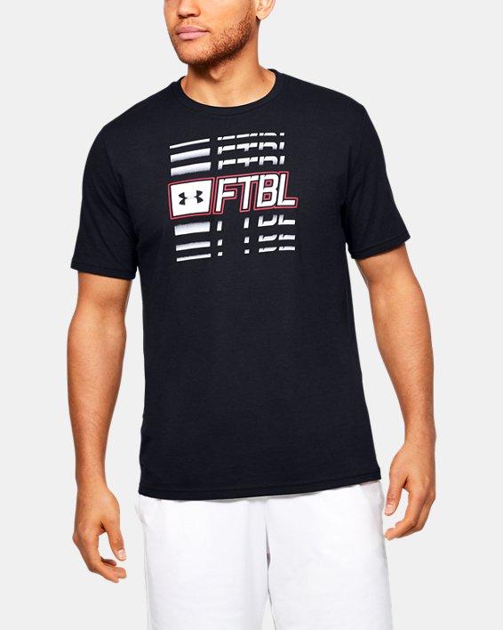 Men's UA FTBL Branded Speed T-Shirt, Black, pdpMainDesktop image number 0