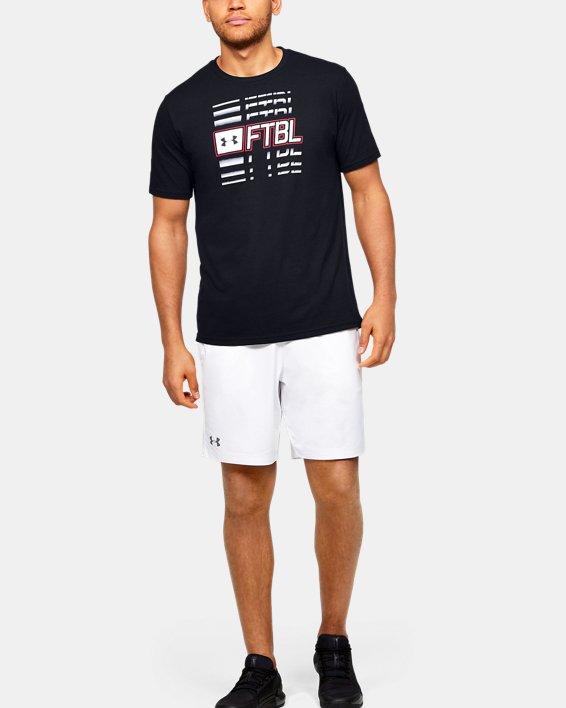 Men's UA FTBL Branded Speed T-Shirt, Black, pdpMainDesktop image number 1