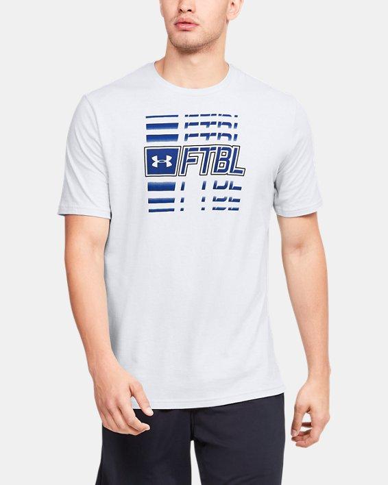Men's UA FTBL Branded Speed T-Shirt, Gray, pdpMainDesktop image number 0