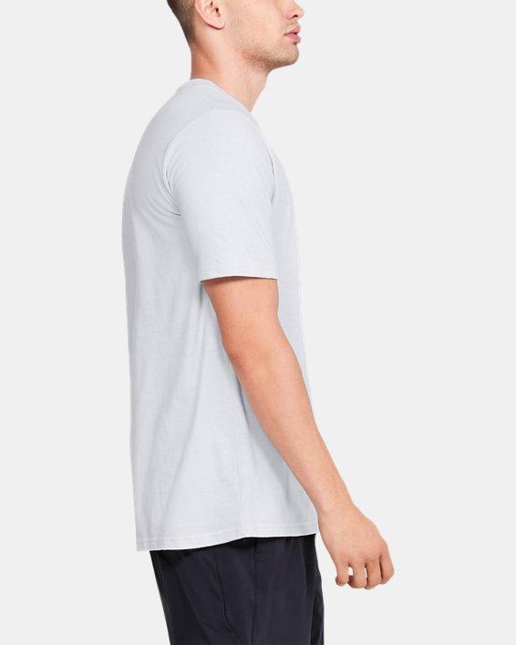 Men's UA FTBL Branded Speed T-Shirt, Gray, pdpMainDesktop image number 3