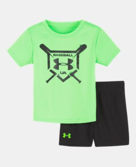 4e36f4a9cfae8 New Arrival Boys' Infant UA Baseball Squad Set 1 Color Available $30