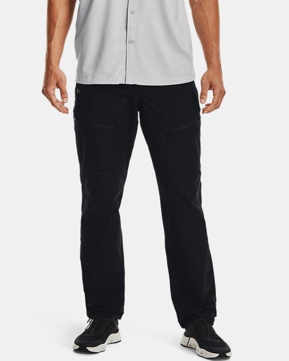 Men's UA Canyon Cargo Pants, Black, pdpMainDesktop image number 1