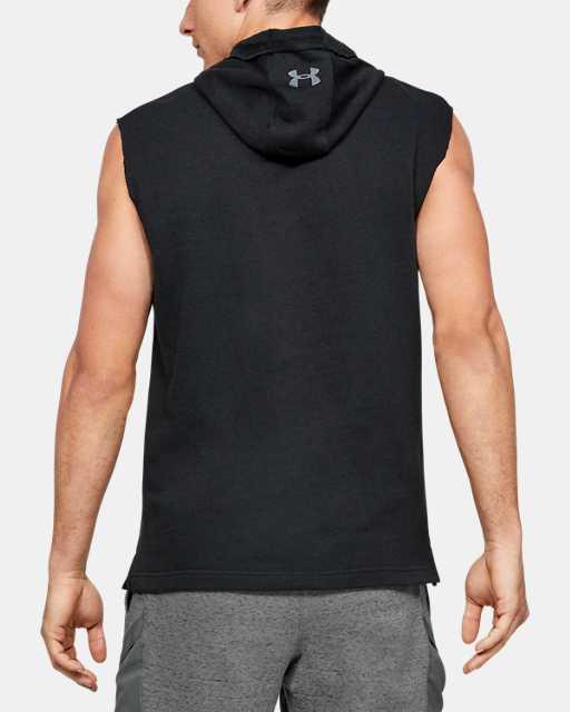 Sweat à capuche sans manches Project Rock Terry pour homme