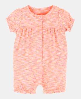 08f725c3c7 Girls' Newborn (Size 0M-9M) Short Sleeve Shirts | Under Armour US
