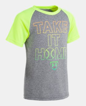 e84891b4d New Arrival Boys' Toddler UA Take It Home Raglan Short Sleeve 1 Color  Available $18