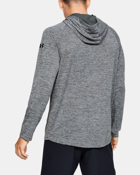 Men's Project Rock UA Tech™ 2.0 Hoodie, Gray, pdpMainDesktop image number 2