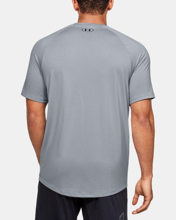 Men's UA Tech™ 2.0 Morph FS Print Short Sleeve, Gray, pdpMainDesktop image number 2