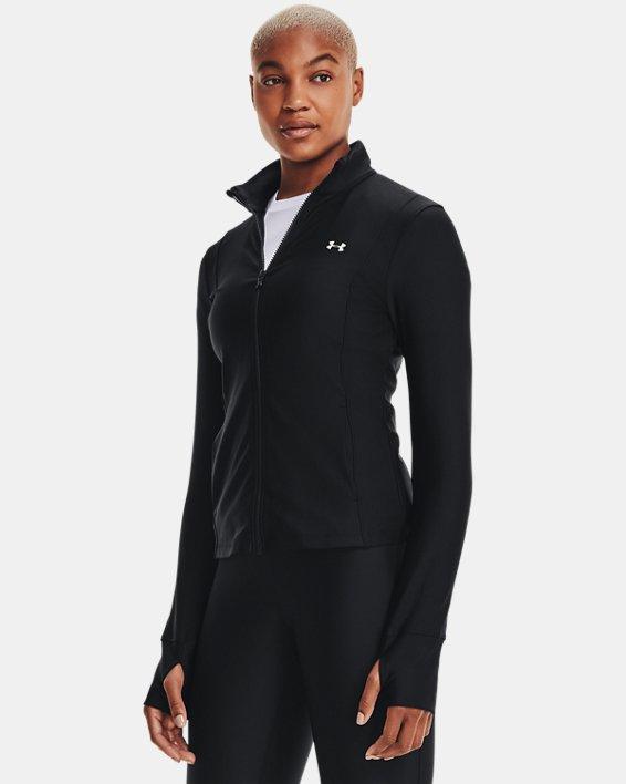 Women's UA Armour Sport Full Zip, Black, pdpMainDesktop image number 1