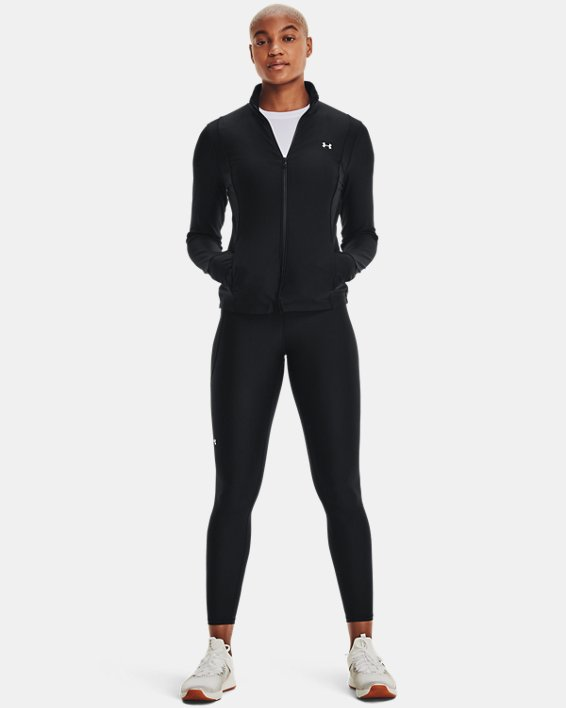 Women's UA Armour Sport Full Zip, Black, pdpMainDesktop image number 1
