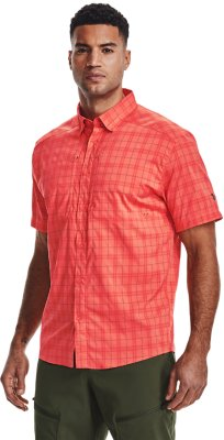 Under Armour Tide Chaser 2.0 UPF 30  135112 820  man rush red shirt  Brand New