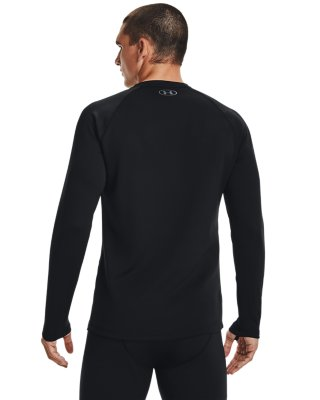 Under Armour Cold Gear 4.0 Fitted Crew  Black   L XL XX   1353349  SKI
