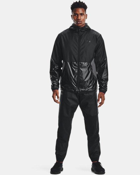 Men's UA RUSH™ Legacy Windbreaker Jacket, Black, pdpMainDesktop image number 0