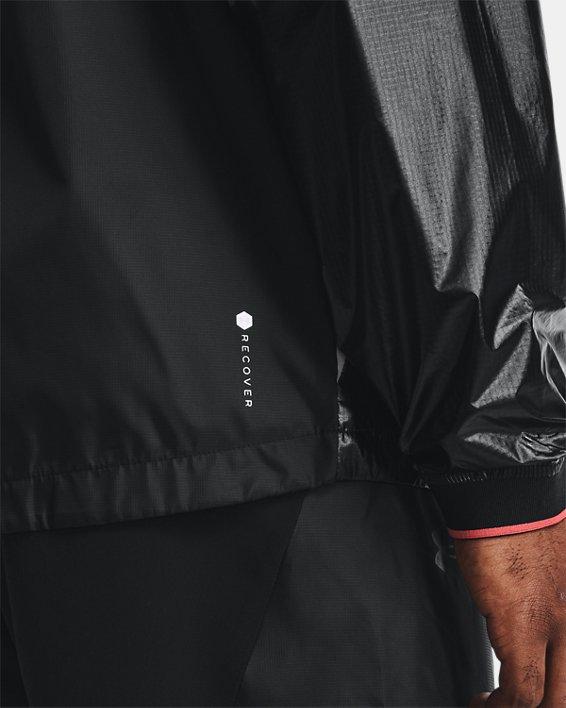 Men's UA RUSH™ Legacy Windbreaker Jacket, Black, pdpMainDesktop image number 3