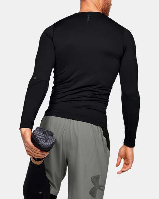 T-shirt à manches longues UA RUSH™ HeatGear® Compression pour homme