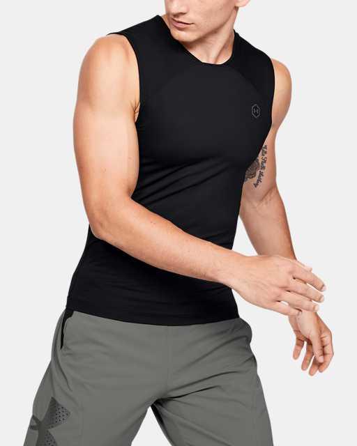 Men's UA RUSH™ HeatGear® Compression Sleeveless