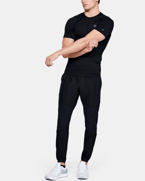 T-shirt à manches courtes UA RUSH™ HeatGear® Compression pour homme, Black, pdpMainDesktop image number 1