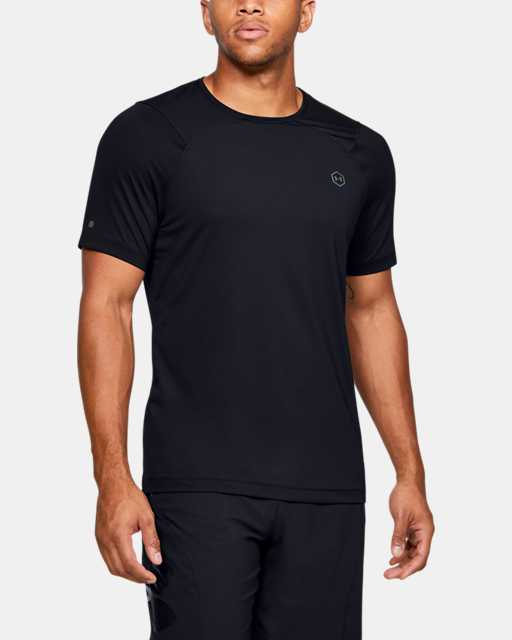 Men's UA RUSH™ HeatGear® Fitted Short Sleeve
