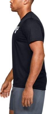 Under Armour UA Speed Strike Short Sleeved Black Ladies Sports Tshirt S