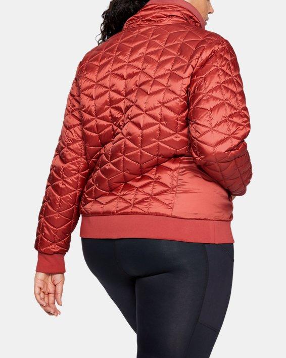 Women's ColdGear® Reactor Performance Jacket, Pink, pdpMainDesktop image number 2