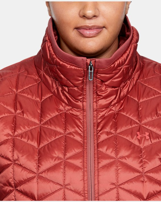 Women's ColdGear® Reactor Performance Jacket, Pink, pdpMainDesktop image number 5