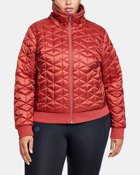Women's ColdGear® Reactor Performance Jacket, Pink, pdpMainDesktop image number 0
