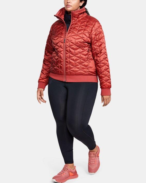 Women's ColdGear® Reactor Performance Jacket, Pink, pdpMainDesktop image number 1