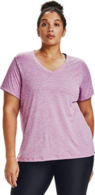 Lot de 1 Twist T-Shirt Femme Under Armour Tech Sleeve V