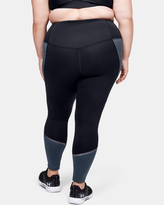 Women's ColdGear® Armour Graphic Leggings, Gray, pdpMainDesktop image number 2
