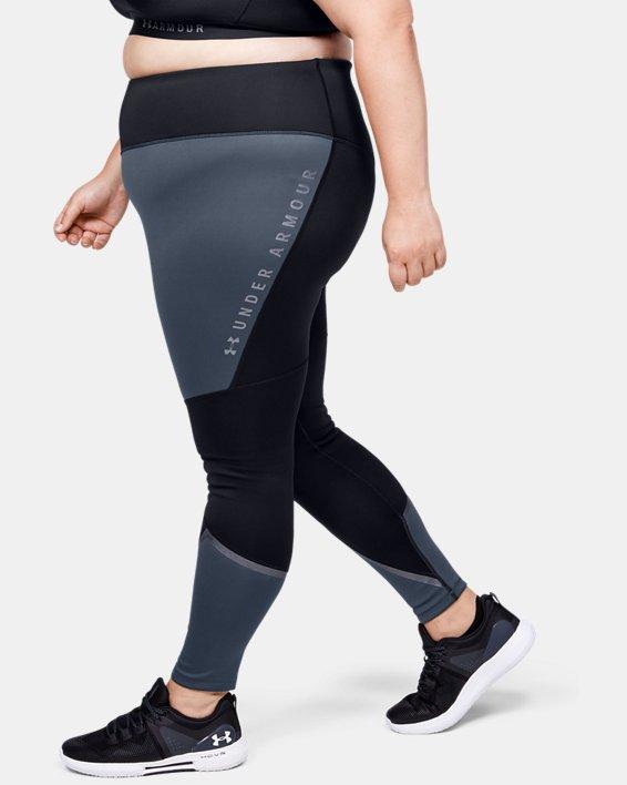 Women's ColdGear® Armour Graphic Leggings, Gray, pdpMainDesktop image number 3