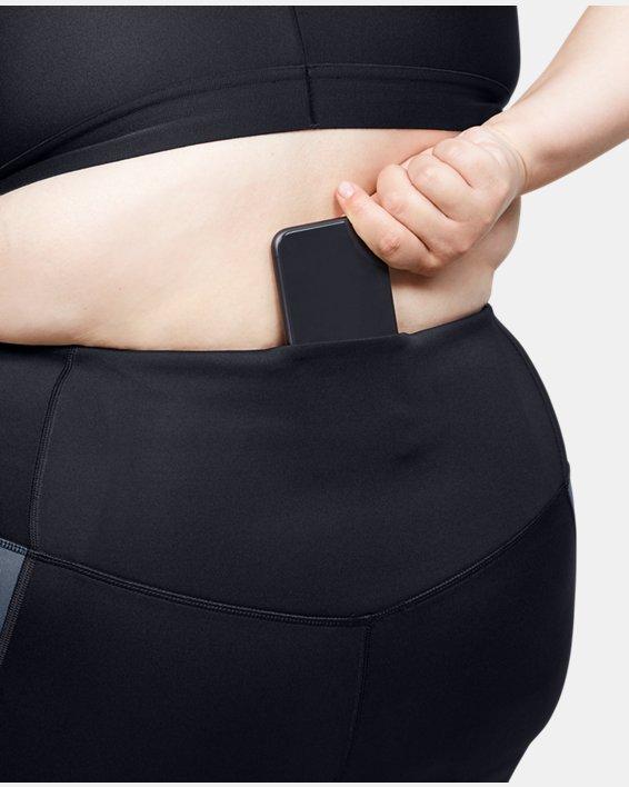 Women's ColdGear® Armour Graphic Leggings, Gray, pdpMainDesktop image number 6