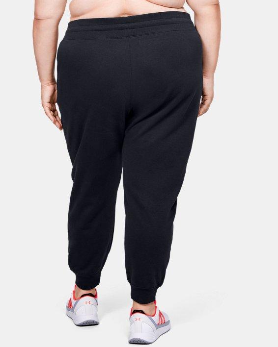 Pantalon UA Rival Fleece pour femme, Black, pdpMainDesktop image number 2