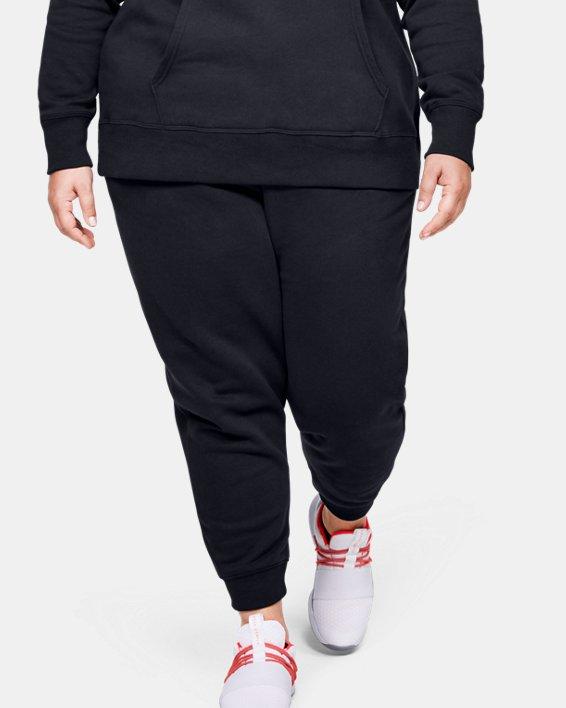 Pantalon UA Rival Fleece pour femme, Black, pdpMainDesktop image number 0