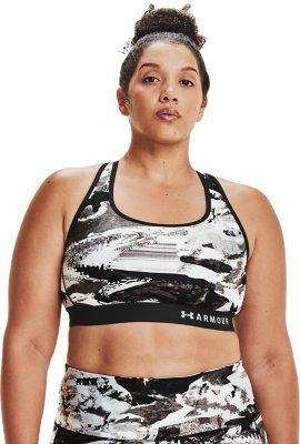 Soutien-Gorge de Sport Femme Under Armour Armour Mid Crossback Clutch Printed Bra