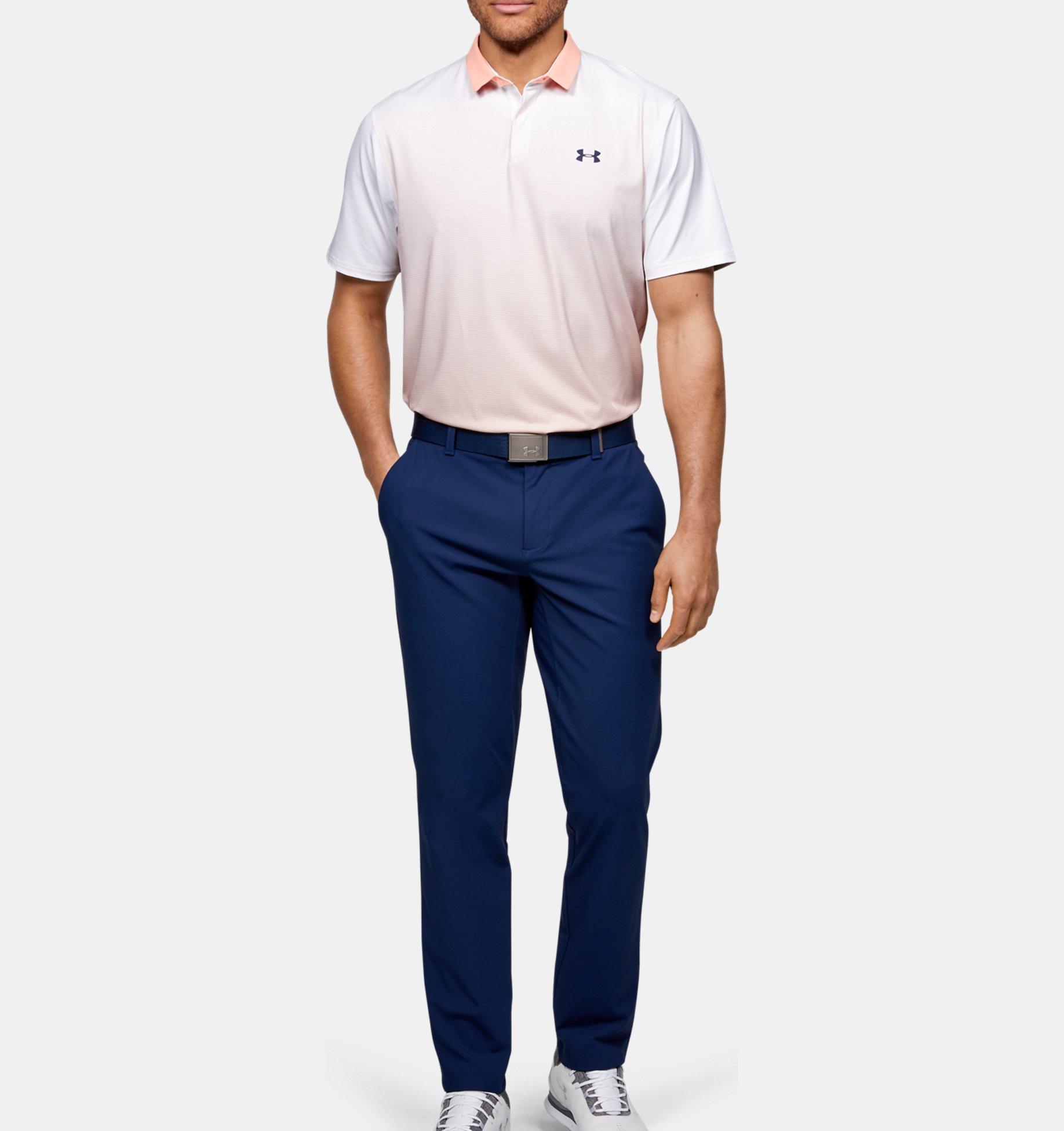 Underarmour Mens UA Iso-Chill Gradient Polo